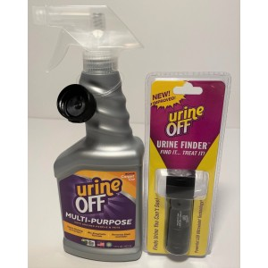 Urine Off Starter Kit - 500ml & Mini LED Urine Finder   Urine Off   Urine Finders   VIEW ALL PRODUCTS   CURRENT SPECIALS   Stain Removers   Odour Eliminators