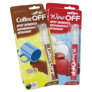 x4 Wine Off and/or Coffee Off Pens | VIEW ALL PRODUCTS | Stain Removers | CURRENT SPECIALS