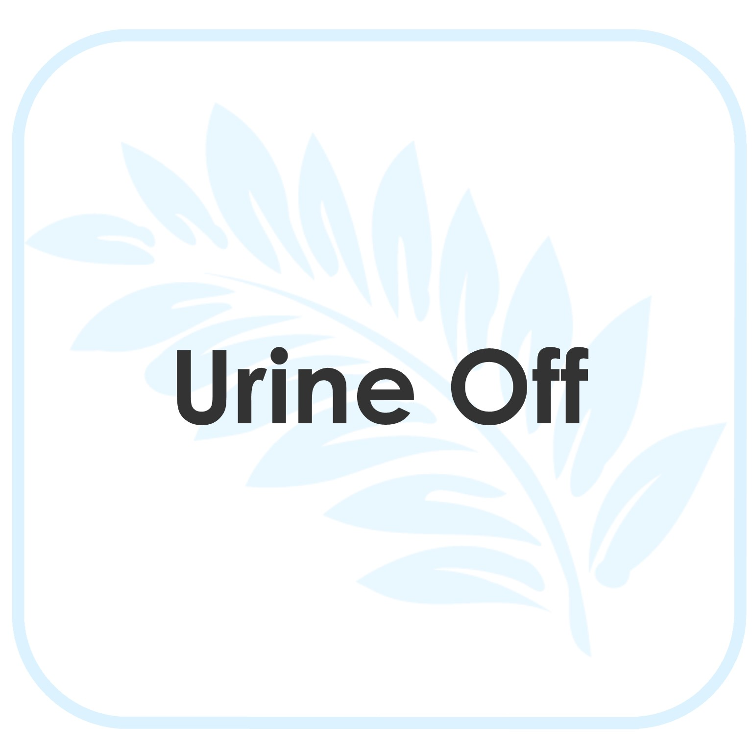 Urine Off Product Instructions