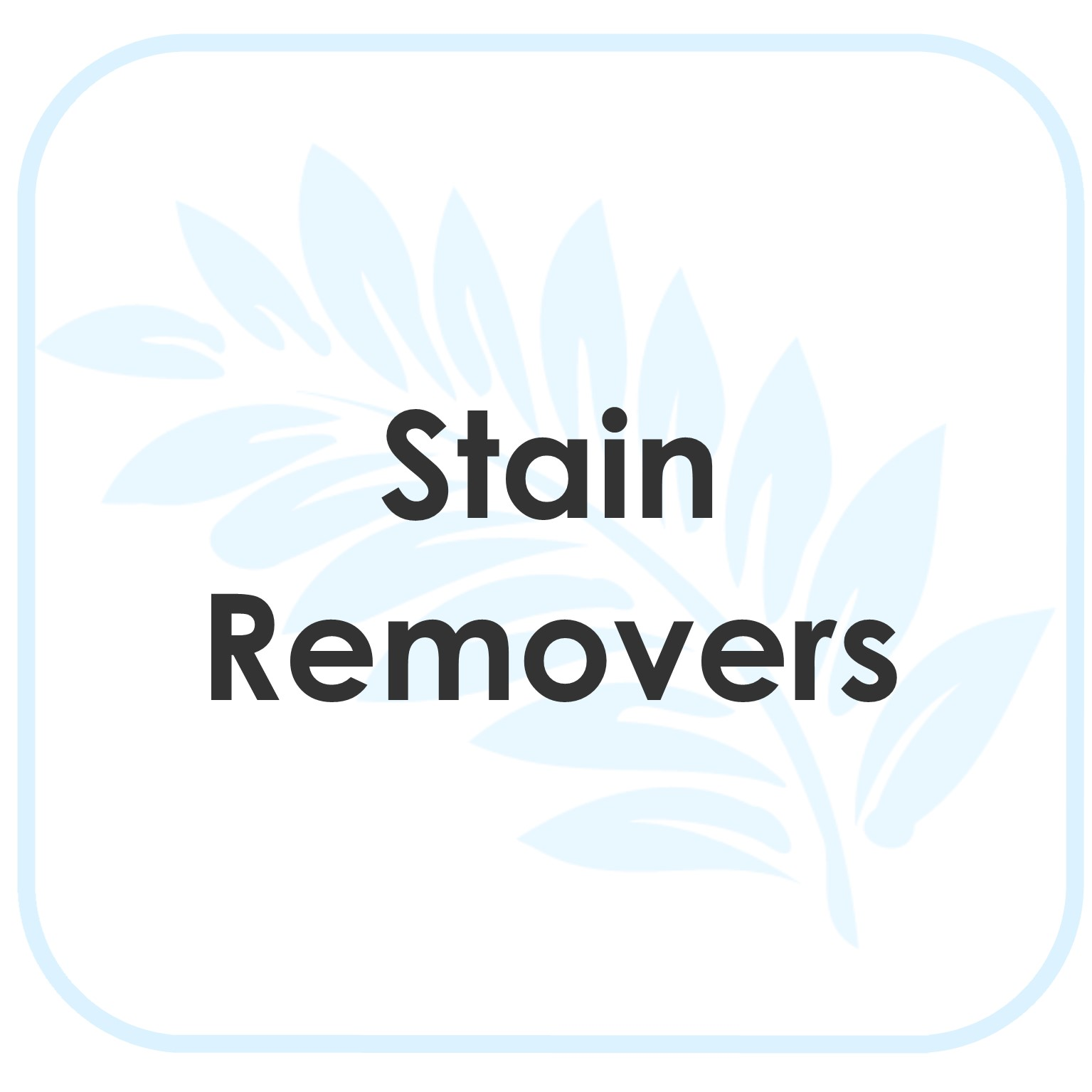 Stain Removers Product Instructions