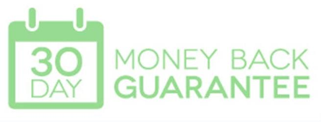 30 Day Back Money Guarantee